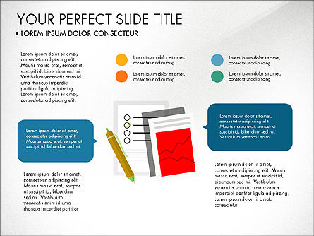 Illustrative Project Presentation Template, Slide 2, 03884, Presentation Templates — PoweredTemplate.com