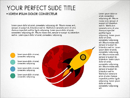 Illustrative Project Presentation Template, Slide 3, 03884, Presentation Templates — PoweredTemplate.com