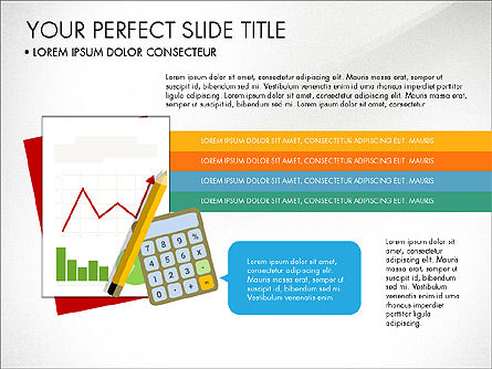 Illustrative Project Presentation Template, Slide 4, 03884, Presentation Templates — PoweredTemplate.com