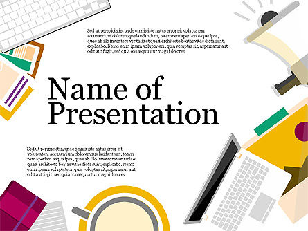 Presentation Templates: Marketing pitchpresentatie template #03885