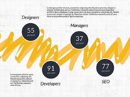 Creative Services Presentation Template, Slide 4, 03886, Presentation Templates — PoweredTemplate.com