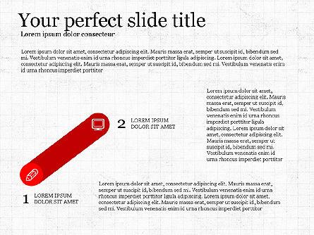 Step by Step Presentation Concept, Slide 2, 03887, Process Diagrams — PoweredTemplate.com