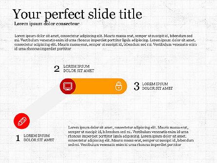 Step by Step Presentation Concept, Slide 3, 03887, Process Diagrams — PoweredTemplate.com