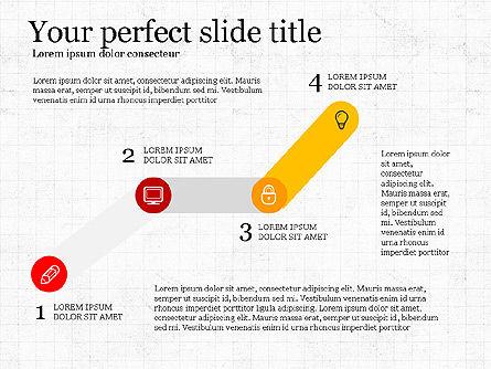 Step by Step Presentation Concept, Slide 4, 03887, Process Diagrams — PoweredTemplate.com