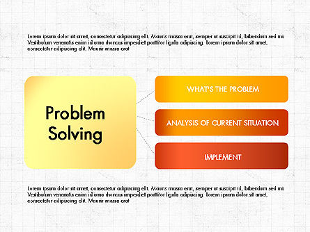 Problem Solving Stages Presentation Template, Slide 7, 03888, Stage Diagrams — PoweredTemplate.com