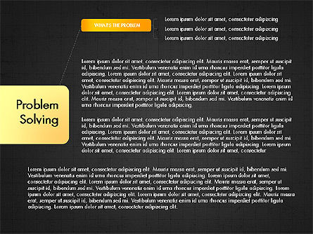Problem Solving Stages Presentation Template, Slide 9, 03888, Stage Diagrams — PoweredTemplate.com