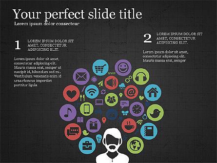 Project Schedule Presentation Concept, Slide 11, 03889, Presentation Templates — PoweredTemplate.com