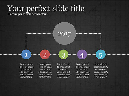 Project Schedule Presentation Concept, Slide 12, 03889, Presentation Templates — PoweredTemplate.com