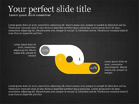 Creative Shapes Slide Deck, Slide 11, 03892, Shapes — PoweredTemplate.com