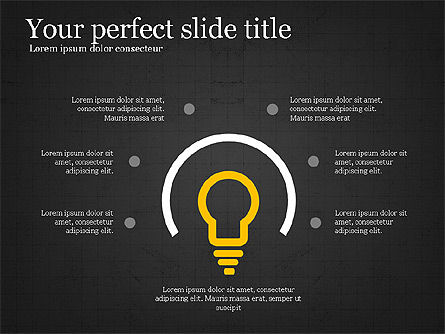 Creative Shapes Slide Deck, Slide 12, 03892, Shapes — PoweredTemplate.com