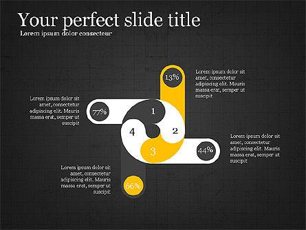 Creative Shapes Slide Deck, Slide 14, 03892, Shapes — PoweredTemplate.com