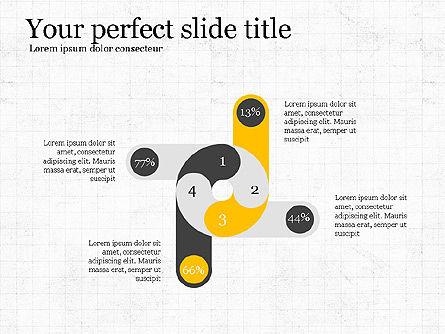Creative Shapes Slide Deck, Slide 6, 03892, Shapes — PoweredTemplate.com
