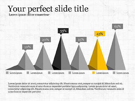 Creative Shapes Slide Deck, Slide 8, 03892, Shapes — PoweredTemplate.com
