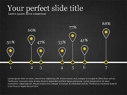 Creative Shapes Slide Deck, Slide 9, 03892, Shapes — PoweredTemplate.com