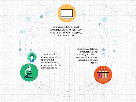 Science and Marketing Presentation Concept, Slide 3, 03893, Presentation Templates — PoweredTemplate.com