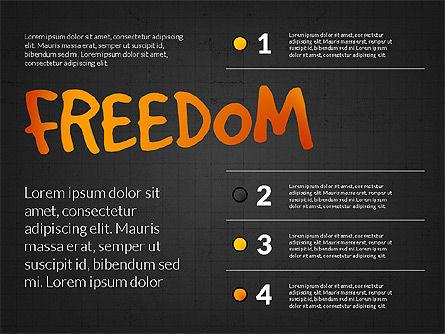 Freedom Organizational Chart, Slide 11, 03894, Business Models — PoweredTemplate.com