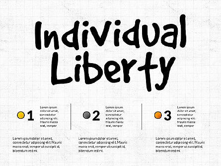 Freedom Organizational Chart, Slide 2, 03894, Business Models — PoweredTemplate.com