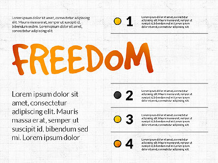 Freedom Organizational Chart, Slide 3, 03894, Business Models — PoweredTemplate.com