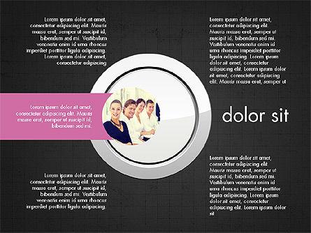 Team Presentation Slides, Slide 10, 03895, Presentation Templates — PoweredTemplate.com