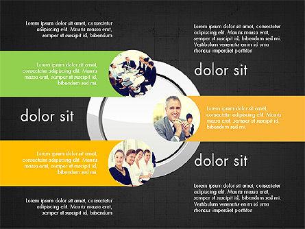 Team Presentation Slides, Slide 14, 03895, Presentation Templates — PoweredTemplate.com