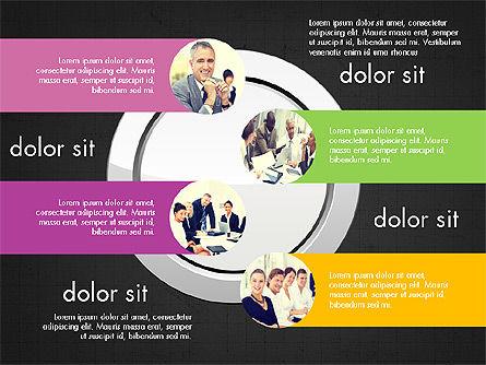 Team Presentation Slides, Slide 16, 03895, Presentation Templates — PoweredTemplate.com