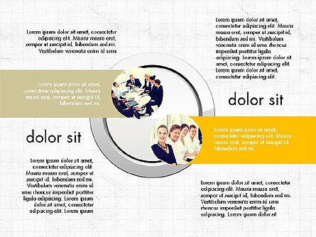 Team Presentation Slides, Slide 4, 03895, Presentation Templates — PoweredTemplate.com