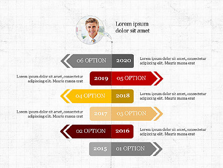 Process Diagrams: Options Slides Deck #03896