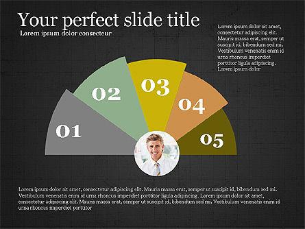 Options Slides Deck, Slide 10, 03896, Process Diagrams — PoweredTemplate.com