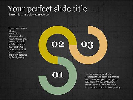 Options Slides Deck, Slide 11, 03896, Process Diagrams — PoweredTemplate.com