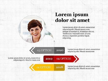 Options Slides Deck, Slide 6, 03896, Process Diagrams — PoweredTemplate.com