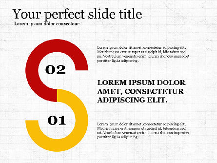 Options Slides Deck, Slide 7, 03896, Process Diagrams — PoweredTemplate.com