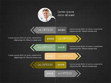 Options Slides Deck, Slide 9, 03896, Process Diagrams — PoweredTemplate.com