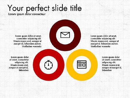 Business Presentation with Flat Design Shapes Slide 2