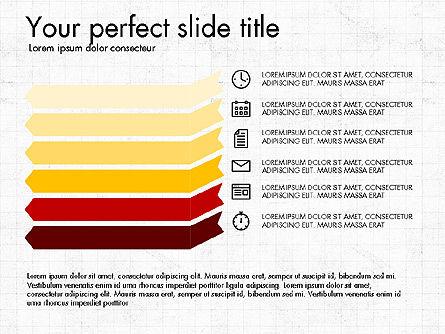 Business Presentation with Flat Design Shapes Slide 3
