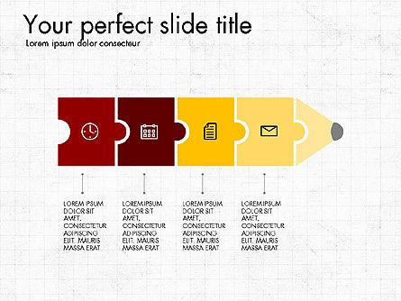 Business Presentation with Flat Design Shapes Slide 4