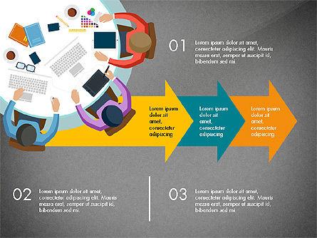 Promotion Plan Presentation Concept, Slide 14, 03898, Presentation Templates — PoweredTemplate.com