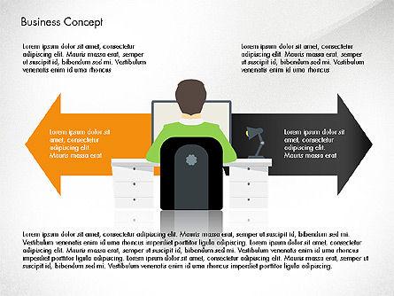 Promotion Plan Presentation Concept, Slide 3, 03898, Presentation Templates — PoweredTemplate.com