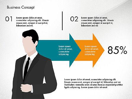 Promotion Plan Presentation Concept, Slide 4, 03898, Presentation Templates — PoweredTemplate.com