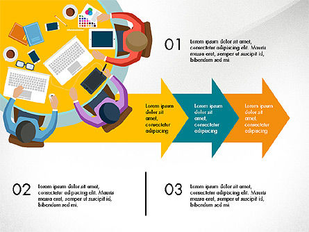 Promotion Plan Presentation Concept, Slide 6, 03898, Presentation Templates — PoweredTemplate.com