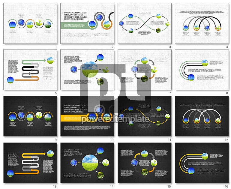 Ecological Process Flow Presentation Concept