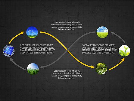 Ecological Process Flow Presentation Concept, Slide 11, 03899, Process Diagrams — PoweredTemplate.com