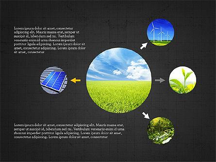 Ecological Process Flow Presentation Concept, Slide 14, 03899, Process Diagrams — PoweredTemplate.com