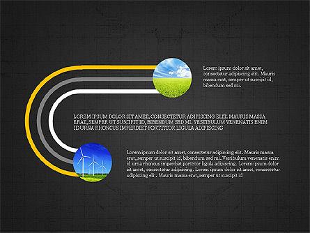 Ecological Process Flow Presentation Concept, Slide 16, 03899, Process Diagrams — PoweredTemplate.com