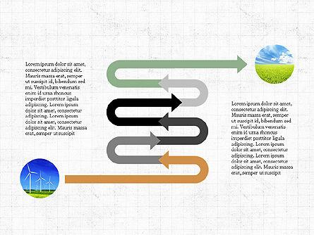 Ecological Process Flow Presentation Concept, Slide 5, 03899, Process Diagrams — PoweredTemplate.com