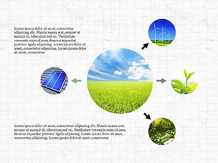 Ecological Process Flow Presentation Concept, Slide 6, 03899, Process Diagrams — PoweredTemplate.com
