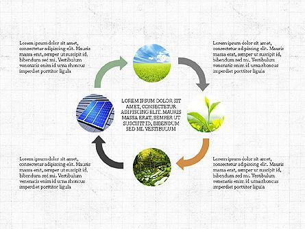 Ecological Process Flow Presentation Concept, Slide 7, 03899, Process Diagrams — PoweredTemplate.com