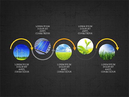 Ecological Process Flow Presentation Concept, Slide 9, 03899, Process Diagrams — PoweredTemplate.com