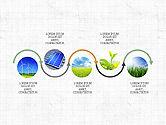 Process Diagrams: Concept de présentation du flux de processus écologique #03899
