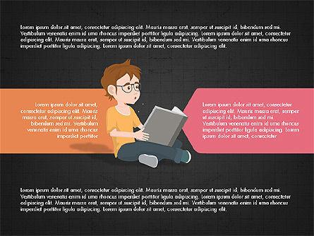 Startup Project Presentation Deck, Slide 11, 03901, Presentation Templates — PoweredTemplate.com