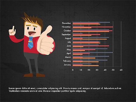 Startup Project Presentation Deck, Slide 12, 03901, Presentation Templates — PoweredTemplate.com